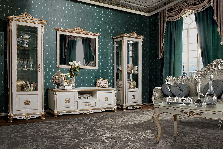 изящная мебель для гостиной фото эта